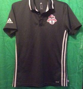 Adidas Climate  TORONTO FC FOOTBALL Polo  SHIRT MLS  SIZE SMALL S ADULT