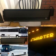 MCI Bus Parts Destination Sign Like New Only Fits 1990 and Up 2020 D4500 Models