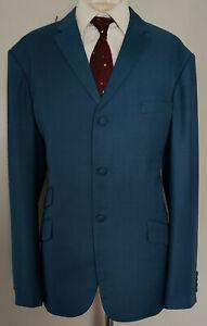 """""""Mod Clothin"""" Two Tone Suit  """"Alex""""  Navy Pow Fabric  Crown  Jester  U.K 48 NEW"""