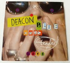 "Deacon Blue - Only tender love   UK 12"" & LARGE POSTER"