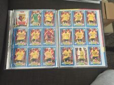 Watford Match Attax 17/18 Trading Cards Full Team Including Badge