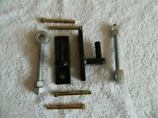 WROUGHT IRON GATE HINGE FIXING BRACKETS AND ADJUSTERS , TOP QUALITY