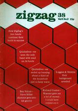 ZIGZAG MAGAZINE 38 . DEC 1973 . CAPTAIN BEEFHEART QUICKSILVER MESSENGER SERVICE