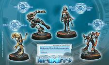 Infinity BNIB Nomads - Bakunin Überfallkommando (box of 4) 280546