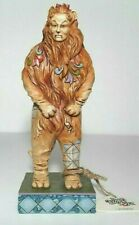 Jim Shore Cowardly Lion Wizard of Oz I Better Wait For You Outside New in Box