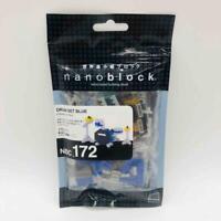 New/Sealed NanoBlock Drum Set Blue 170 Pieces Retired Nanoblocks NBC_172 Kawada