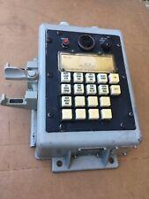 Vintage US Navy Ship Telephone NET 16 TA-1001/STC-2 Phone Engine Room