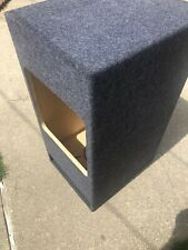 "New listing Square Kicker 15"" Ported Solobaric L3 L5 L7 Subwoofer Box Speaker Sub Enclosure"