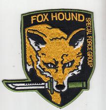 PARCHE METAL GEAR FOX HOUND SPECIAL FORCE GROUP DENTADO    PATCH
