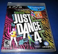 Just Dance 4 Sony PlayStation 3 *Factory Sealed! *Free Shipping!
