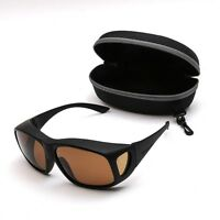 Brown Lens Over Fit Polarised Sunglasses
