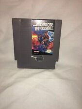 MISSION IMPOSSIBLE Nintendo Nes Game Cartridge only