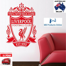New Liverpool Wall Art DIY Removable Sticker Football Club EPL Team Logo