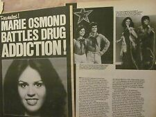 Marie Osmond, Three Page Vintage Clipping