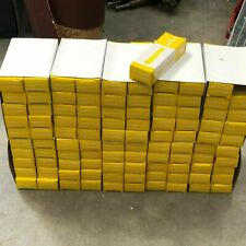 10,000 Yellow Wall Plugs. Fit 4, 6, 8 Screws. Made in the UK. Wholesale Joblot