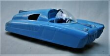 Vintage Marx Car of the Future - 1950's Blue Plastic Friction Space Car