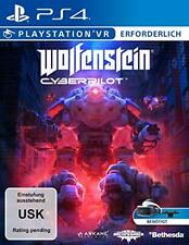 Sony PS4 Playstation 4 Spiel VR Wolfenstein Cyberpilot NEU NEW 18 55