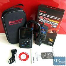 ++ OBD2 iCarsoft i810 Diagnose Handscanner komplett deutsch für Renault MOTOR ++