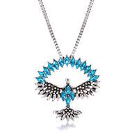 Edelstein Anhänger Lapis Lazuli Adler Drachen Kralle Ketten Indianer Schmuck