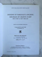 Catalogue Di Vendita Lavagna Bel Tappezzeria Drouot Brogue 25 Avril 1990