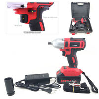 Car 68V Brushless Electric Impact Wrench Cordless 7800Ah Lithium Battery EU Plug