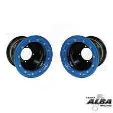 YFZ 450 YFZ 450R  Rear Wheels  Beadlock  8x8  3+5  4/115  Alba Racing  Blk/blu