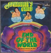 """7"""" Aphrodite 's Child end of the World/you always Stand in My Way 60`s Mercury"""