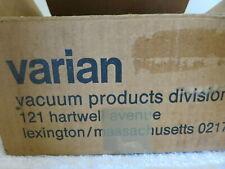 New  Varian Vacuum 591-5091 Valve Assembly NIB