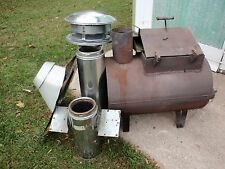 CUSTOM WOOD STOVE FOR SALE PIPE INCLUDED  PRICE REDUCED !!!