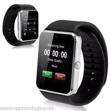 GT08 SmartWatch Armband Uhr für Android + Siver  Bluetooth Wireless
