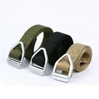 Outdoor Tactical Military Belt Army Training Waistband Buckle Strap Sport Casual