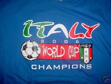 Italy 2006 World Cup Champions T-Shirt-XL
