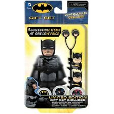 DC COMICS BATMAN LIMITED EDITION GIFT SET BODY KNOCKER EARPHONES & SCALERS