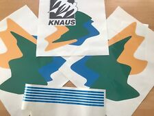 Knaus  sticker decal camper caravan, KNAUS TRAVELLER decals , repairing full kit