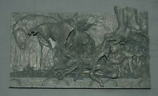 Lord of the Rings Sideshow Weta Escape Off the Road Wall Plaque Statue Figure