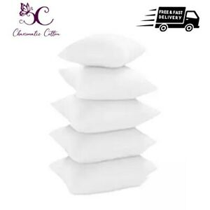 """Cushion Pads Inners Fillers Inserts 16""""18""""20""""22""""24""""26""""30  Deep Filled UK Sizes"""