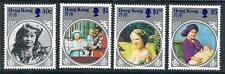 Hong Kong Life & Times Queen Mother SG 493/96 MNH