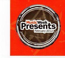 (DZ209) Music Week, 14 tracks various artists - Feb 2012 CD