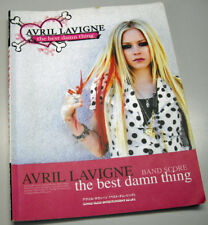 AVRIL LAVIGNE Full Score book the best damn thing Japan Rare!