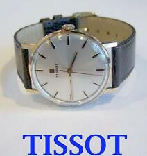 Solid Rose 14k TISSOT Winding Watch c.1970* MINT Condition* SERVICED