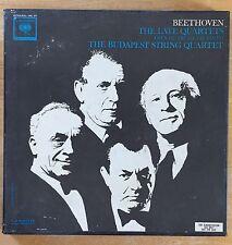 Rare M5L 277 BEETHOVEN Late Quartets BUDAPEST STRING QUARTET 5LP BOX ORIGINAL