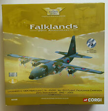 Corgi aviación las Malvinas Lockheed C-130K Hercules C.1K 20th aniversario AA31305