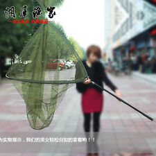 185CM adjustable aluminium large Kayak Boat tele triangular fishing landing net