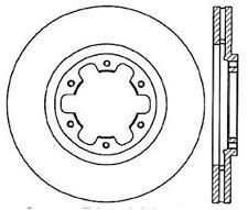 Centric Parts 120.42068 Front Premium Brake Rotor