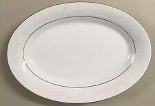 "Crown N Ming Fine China Jian Shiang Royal Palm 14"" Oval Serving Platter"