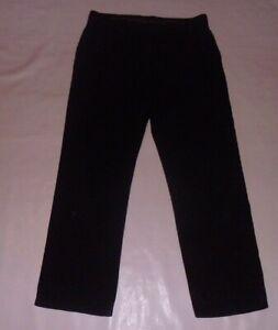 Karl Kertess Black Trousers Size 36W, 31L