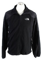 Vintage The Nort Face Mens Tracksuit Top Lined Full Zip Size M Black - SW2450