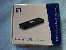 Level one Wireless LAN  WNC0301 USB Wireless Lan Adapter   im original Karton