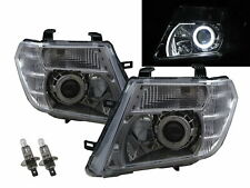 PATHFINDER R51 09-15 Facelift 5D Guide LED Angel-Eye Headlight CH for NISSAN RHD