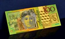 "★★ AUSTRALIE / AUSTRALIA : BILLET POLYMER  "" OR "" DU 100 DOLLARS ★★"